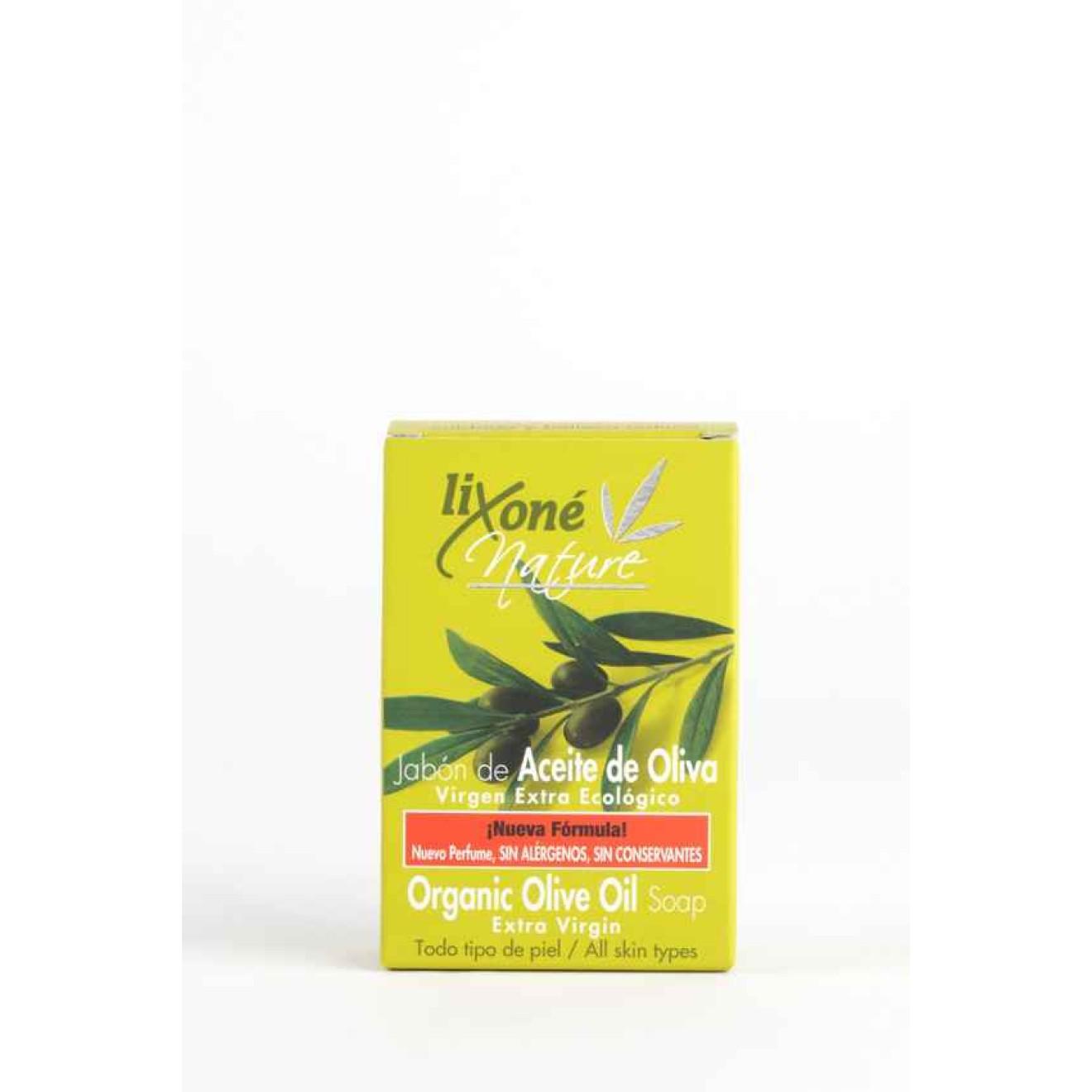 Virgin olive oil soap