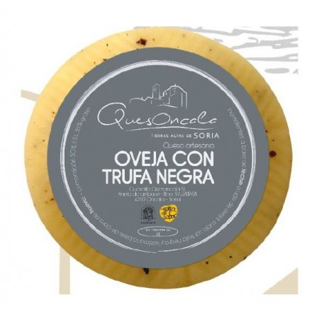 Quesoncala Sheep Raw Milk Cheese With Black Truffle