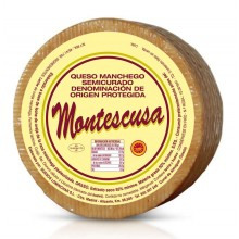 MONTESCUSA Manchego D.O. semicurado 3-4 Monate gereift / - aus past. Schafmilch