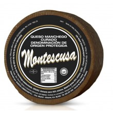 MONTESCUSA Manchego D.O. curado 8 Monate gereift / - aus past. Schafmilch