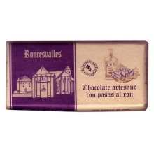 Roncesvalles Chocolate con pasas al ron